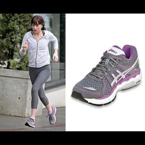 ASO Anastasia Steele Asics Gel Forte sneakers